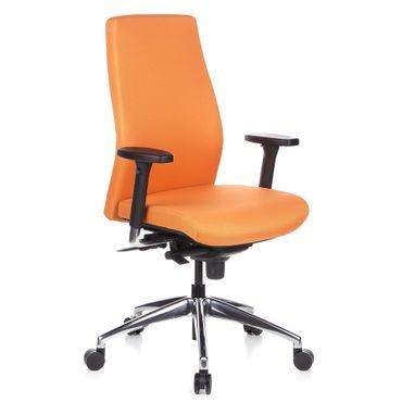 Bürostuhl / Chefsessel 19902 Orange – Bild 1