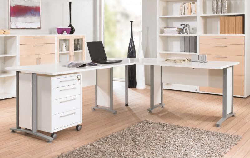 Winkelkombination Schreibtisch