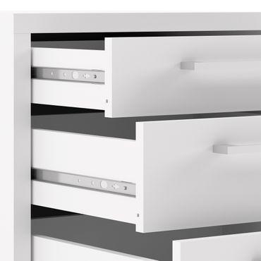 Prima Winkelkombination mit Rollcontainer 200 x 230 cm Weiß – Bild 11