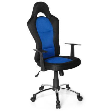 Bürostuhl / Chefsessel 20027 Blau – Bild 1