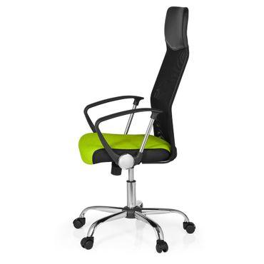 Bürostuhl / Chefsessel 20170 Netzstoff Grün / Schwarz Chrom – Bild 7