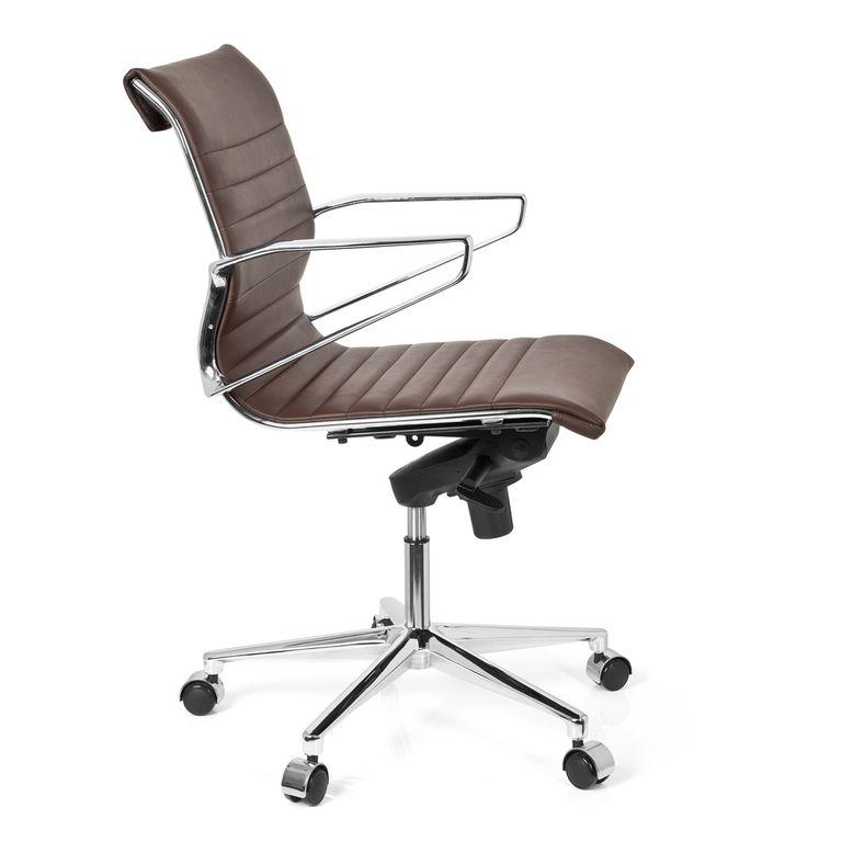 b rostuhl chefsessel 20262 leder braun b ro b rost hle chefsessel profi chefsessel. Black Bedroom Furniture Sets. Home Design Ideas