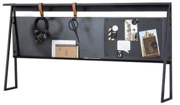 Cilek DARK METAL Schreibtisch-Aufsatz Grau / Schwarz – Bild 1