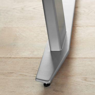Prima Schreibtisch elektrisch höhenverstellbar 150 x 80 cm Weiß, Motortisch – Bild 4