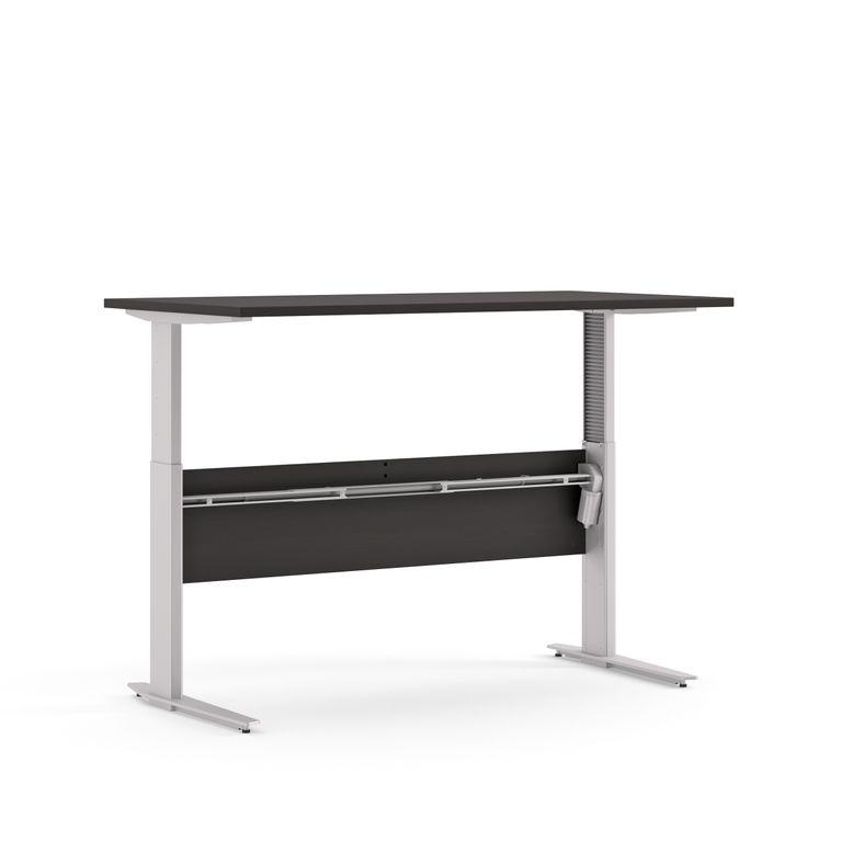 Prima Schreibtisch elektrisch höhenverstellbar 150 x 80 cm Schwarz, Motortisch