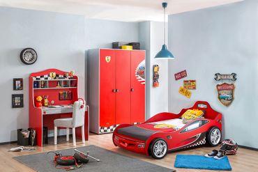 Cilek RACECUP Autobett Kinderbett Rennfahrerbett Rot – Bild 5