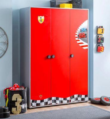 Cilek RACECUP Kinderzimmer Set Komplettset Spielzimmer Rot / Grau – Bild 3