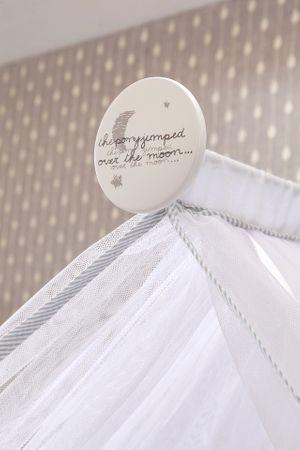Cilek BABY COTTON Babybett L mit Zubehör mitwachsend Kinderbett Bett Weiß – Bild 11