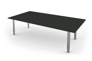 FORM 5 Besprechungstisch höhenverstellbar 200 x 100 cm Anthrazit