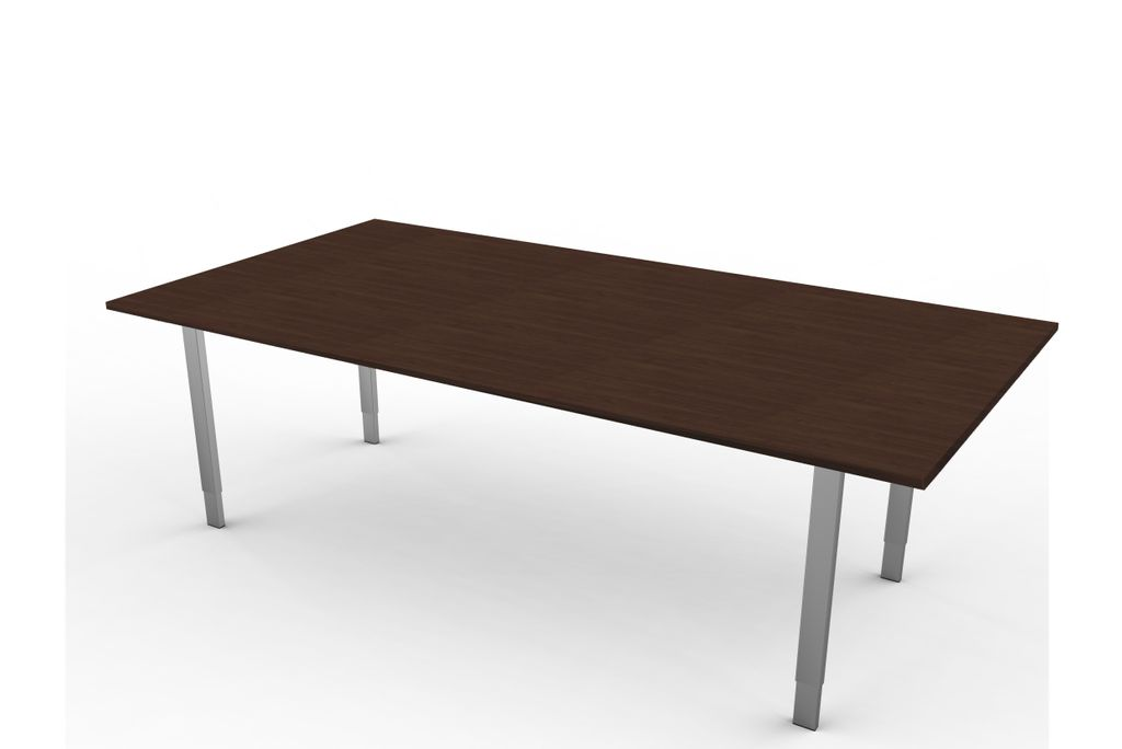 form 5 besprechungstisch h henverstellbar 200 x 100 cm wenge b ro schreibtische gerade tische. Black Bedroom Furniture Sets. Home Design Ideas