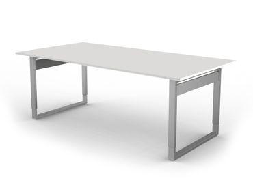 Form 5 Besprechungstisch 200x100 cm höheneinstellbar Weiß