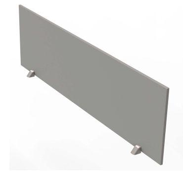 Tischtrennwand für Tische mit 160 - 180 cm breite Grafit