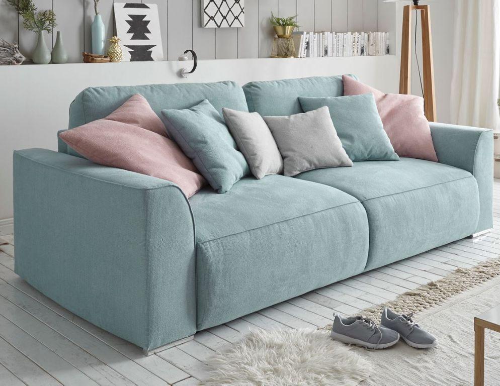 Lazy Sofa 250x87x129 Cm Blau