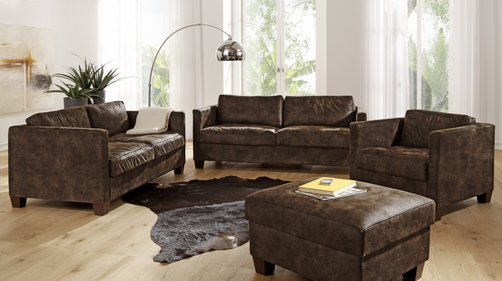 nebraska ecksofa eckgarnitur couch sofa lederoptik eckcouch 3 teilig polsterm bel ecksofas. Black Bedroom Furniture Sets. Home Design Ideas