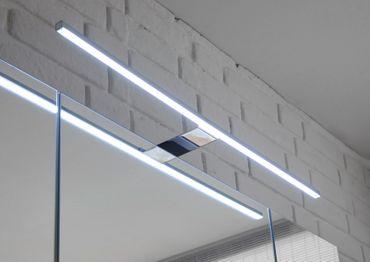 MANHATTAN Badezimmer Set 2-tlg. Grau / Weiß Hochglanz – Bild 4