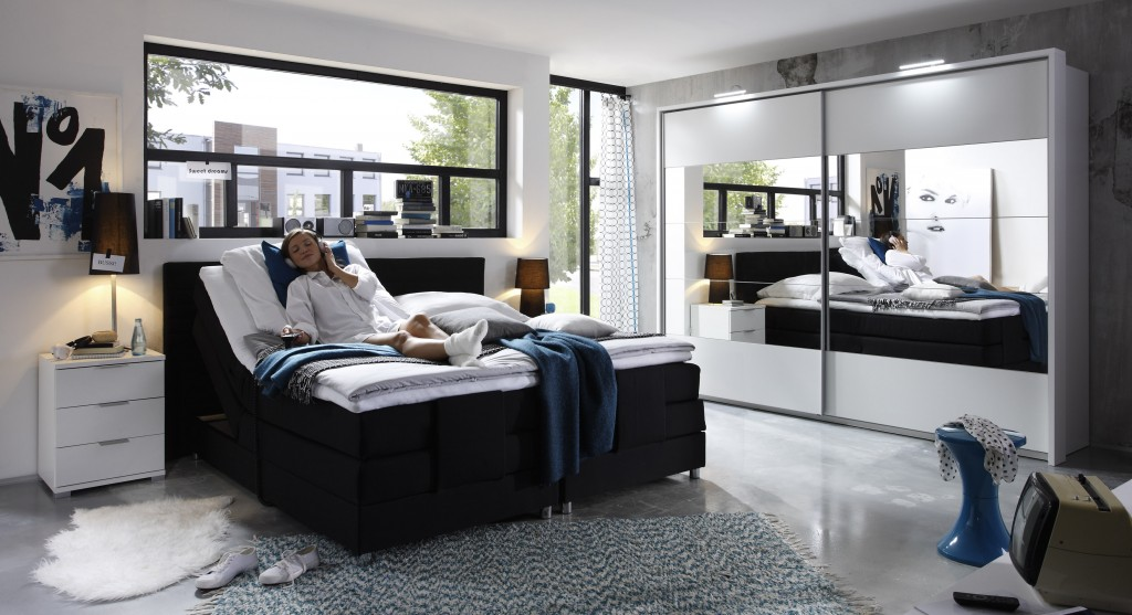 schlafzimmer bett 180x200 bett massiv wei gnstig kaufen bei yatego. Black Bedroom Furniture Sets. Home Design Ideas