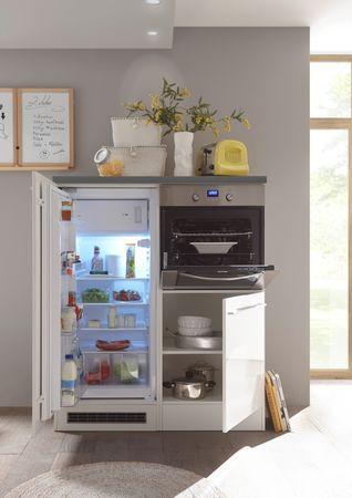 Jarklow Küchenzeile Küchenblock Weiß Hochglanz – Bild 7