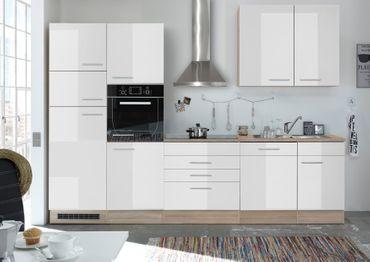 Leixlip Küchenzeile Küchenblock Eiche Sonoma Weiss