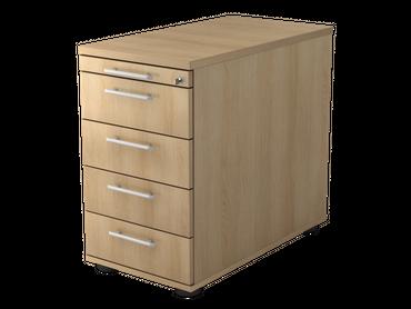 Solid Standcontainer, mit 4 Schüben, verschiedene Farben – Bild 20