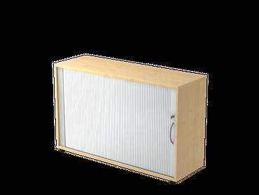 Rollladenschrank 2 OH, 120 x 75 cm (BxH), verschiedene Farben – Bild 1