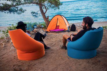 Paq Bed multifunktionaler Sitzsack, Gästebett, viele Farben, PAQBED