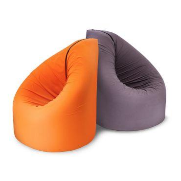 Paq Bed multifunktionaler Sitzsack, Gästebett, viele Farben, PAQBED – Bild 6