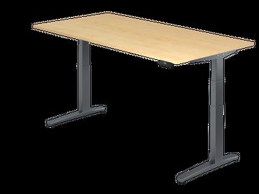 XBHM-Serie Sitz-/Stehtisch elektrisch höhenverstellbar, verschiedene Größen und Farben – Bild 6