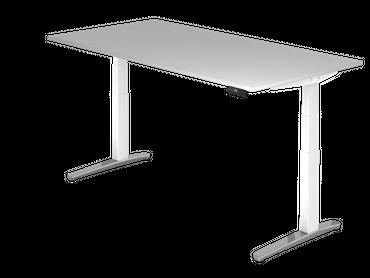 XBHM-Serie Sitz-/Stehtisch elektrisch höhenverstellbar, verschiedene Größen und Farben – Bild 11