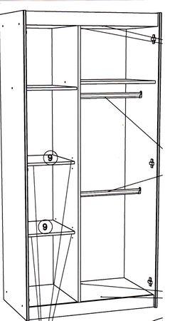 Bibop 41 - 3-tlg Kinderzimmer Set Akazie – Bild 4