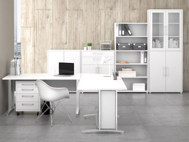 Prima Komplettbüro 'Sofia' Weiß