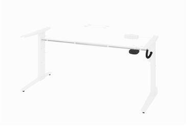 Prima Schreibtisch elektrisch höhenverstellbar 150 x 80 cm Schwarz, Motortisch – Bild 3