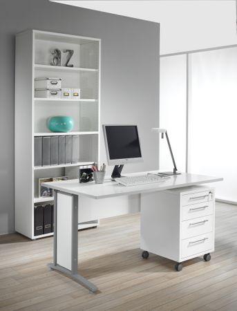 Prima Komplettbüro 'Berlin' Weiß