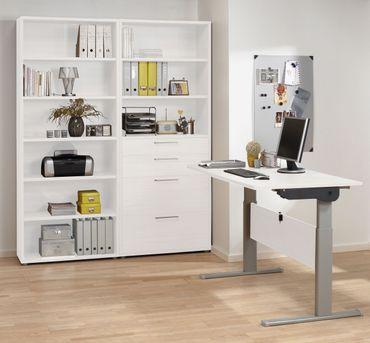 Prima Komplettbüro 'Rom' Weiß