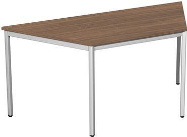 4 Fuß Eco Schreibtisch, Trapezform, 80-160 x 69,3 cm, verschiedene Farben – Bild 6