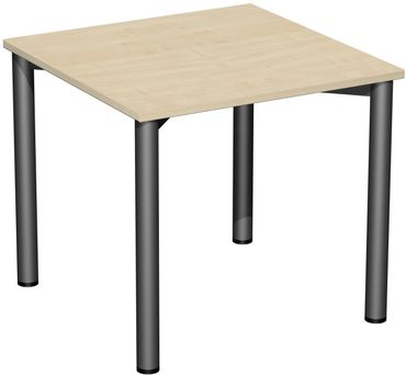 4 Fuß Flex Schreibtisch, gerade, verschiedene Größen und Farben – Bild 1