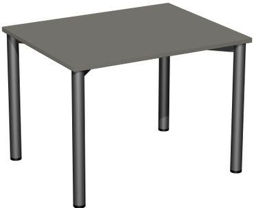 4 Fuß Flex Schreibtisch, gerade, verschiedene Größen und Farben – Bild 11