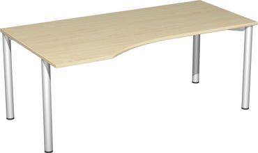 4 Fuß Flex Freiformtisch, verschiedene Größen und Farben – Bild 25