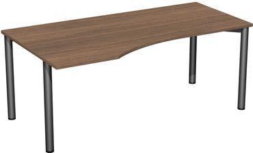 4 Fuß Flex Freiformtisch, verschiedene Größen und Farben – Bild 12