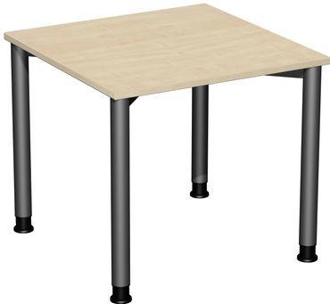 4 Fuß Flex Schreibtisch, höhenverstellbar, gerade, verschiedene Größen und Farben – Bild 1