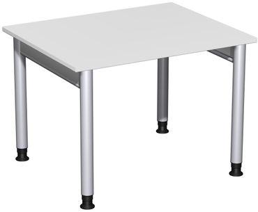 4 Fuß Pro Schreibtisch, höhenverstellbar, gerade, verschiedene Größen und Farben – Bild 9