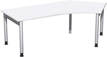 4 Fuß Pro Freiformtisch 135°, höhenverstellbar, 216,6 x 80-113 cm, verschiedene Farben – Bild 10