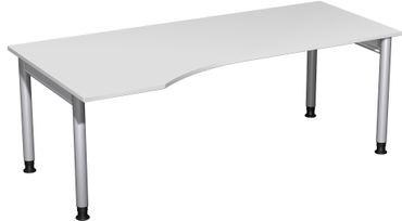 4 Fuß Pro Freiformtisch, höhenverstellbar, verschiedene Größen und Farben – Bild 3