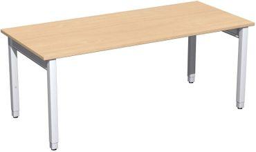 4 Fuß Pro Quadrat Schreibtisch, höhenverstellbar, gerade, verschiedene Größen und Farben – Bild 10