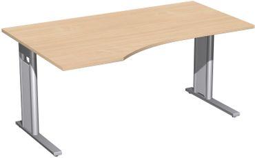 C-Fuß Pro Freiformtisch, verschiedene Größen und Farben – Bild 8