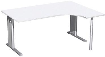 C-Fuß Pro Kompakt-Schreibtisch, verschiedene Größen und Farben – Bild 9