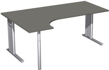 C-Fuß Pro Kompakt-Schreibtisch, verschiedene Größen und Farben – Bild 19