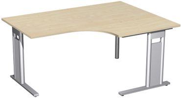 C-Fuß Pro Kompakt-Schreibtisch, verschiedene Größen und Farben – Bild 6