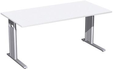C-Fuß Pro Schreibtisch, gerade, höhenverstellbar, verschiedene Größen und Farben – Bild 4