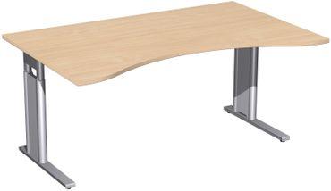 C-Fuß Pro Cockpit-Schreibtisch, höhenverstellbar, verschiedene Größen und Farben – Bild 10