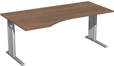 C-Fuß Pro Freiformtisch, höhenverstellbar, verschiedene Größen und Farben – Bild 18